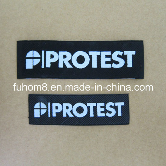 Custom High Quality Garment Main Woven Label pictures & photos