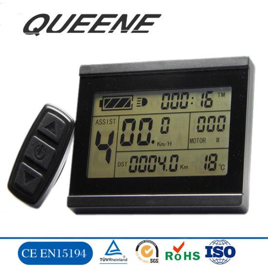 Queene/Electric Bike Kt 5-Digit LCD Display /Meter for Conversion Kit