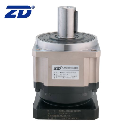 115mm ZB Series 3~7 Backlash High Precision and Small Backlash Planetary Gearbox