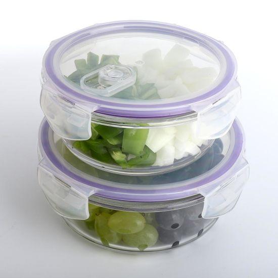 Housewares High Borosilicate Glass Storage Meal Prep Food Containers Set