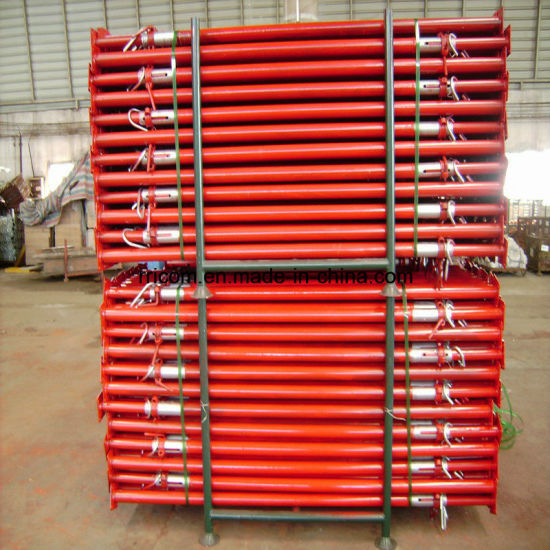 Painting Heavy Duty Scaffold Steel Props for BS1139 /En74 Standard pictures & photos