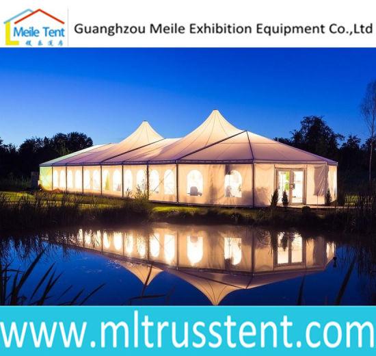 250 Person Peak Marquee Tent Special Design Alpine Tent