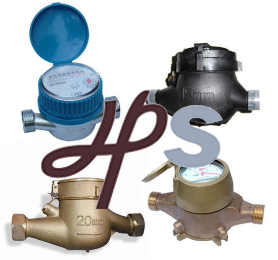 Plastic and Brass Multi Jet or Single Jet Water Meter