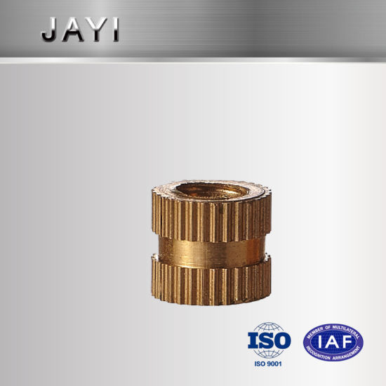 Gridding Knurling Nut, Copper Nut for Insert, CNC Machinery Parts, Turning Parts pictures & photos