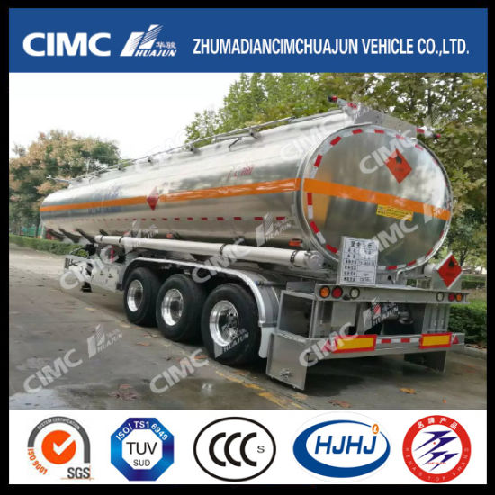 20, 000-40, 000litre Aluminium Fuel/Oil/Petrol/Gasoline Tanker pictures & photos