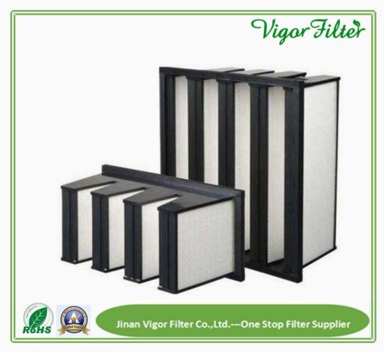 4 Bank Air Filter for Air Conditioning and Air Heating Ventilation pictures & photos