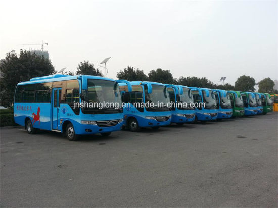 China 6.6m Small Bus 20-24 Seats Bus (diesel/ front engine) pictures & photos