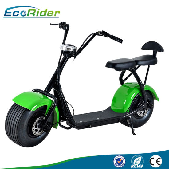 China Ecorider Electric Scooter 1000w Citycoco Scooter Electric