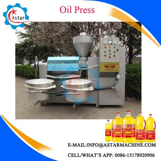 Tung Tree Seeds Oil Pressing Machine pictures & photos