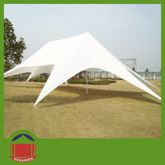 Twin Star Tent in White Color for Outdoor Shelter pictures & photos