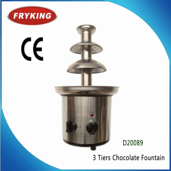 Stainless Steel Electric 3 / 5 / 7 Tiers Customized Chocolate Fountain Machine Price pictures & photos