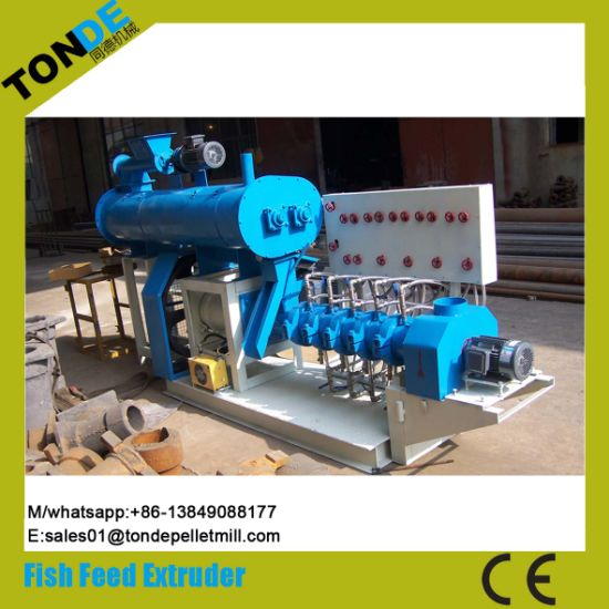 Aquatic Shrimp Floating Fish Food Pellet Production Line Extruder pictures & photos