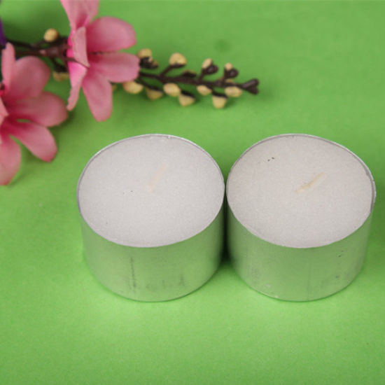 8g-23G Unscented Tealight Candle/8hrs Burning Time Tealight Candle/Colorful Tealight Candle pictures & photos