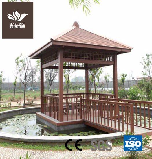 Environmental-Protecting WPC Garden Pavilion
