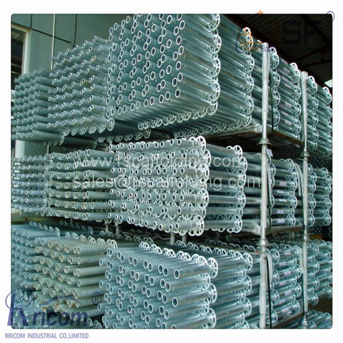 Galvanized Ringlock System Scaffolding for Constrution pictures & photos