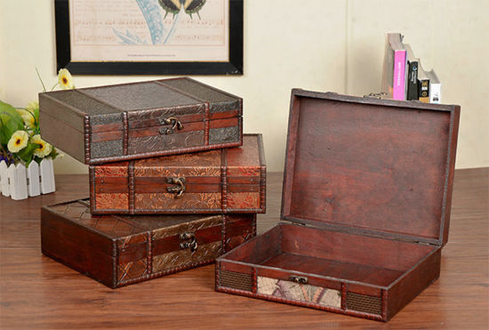 China Antique Collection Wooden Box Such as Jewelry or Decoration ...