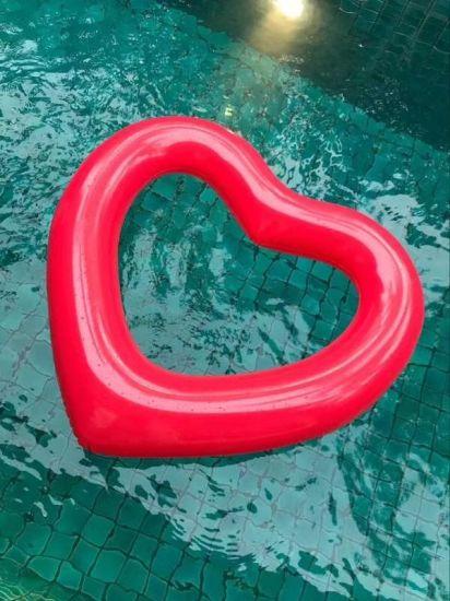 Love-Heart-Shaped-Pool-Float-Swimming-Ri