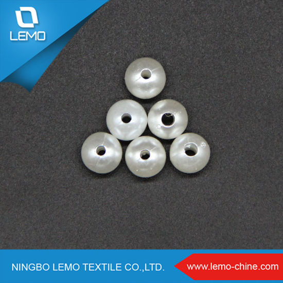 Smoothy Silvery Spherical 8mm High Quality ABS Pearl Beads