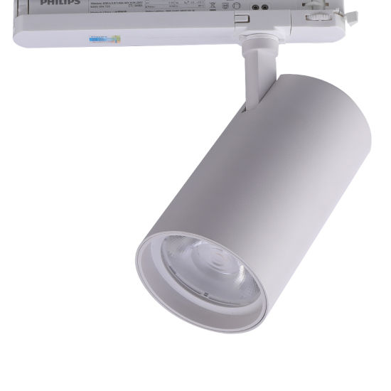 CREE/Citizen COB Ra>95 90lm/W Flick Free Indoor Commercial Shop Ceiling Spot Lighting LED Track Light with 5 Year Warranty