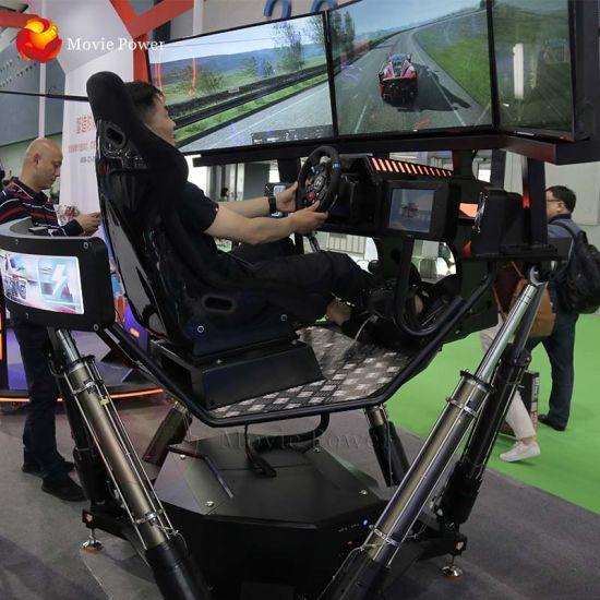 New Electric 360 Degree F1 3 Screens Car Racing Simulator