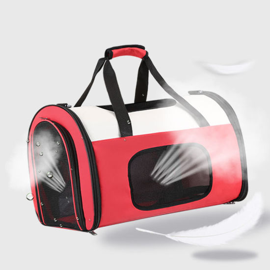 Portable Luggage Duffel Bag Cat Travel Bags Carry-on In Trolley Handle