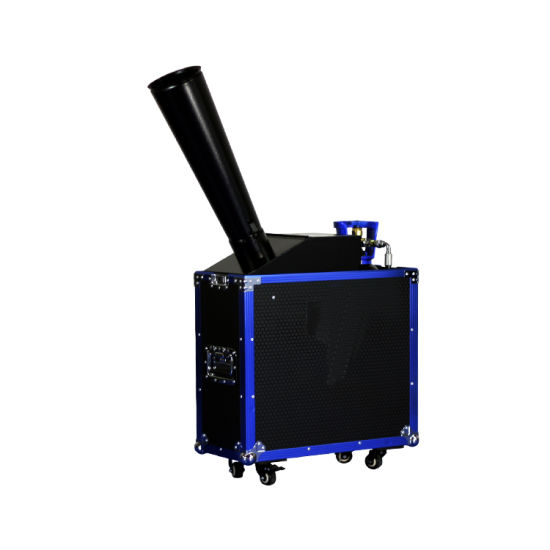 Low Price Portable Confetti Cannon Paper Machine with Fligh Case for Sell