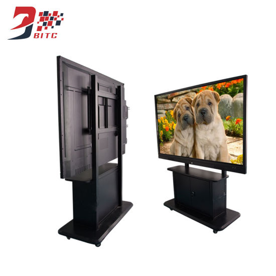 "43"" Floor Standing Infrared Touch All in One PC Smart TV with Stand Vertical Ccel LED Ad Player pictures & photos"