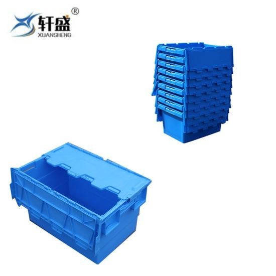 Chinese Factory Supplier Plastic Turnover Box for Moving Company
