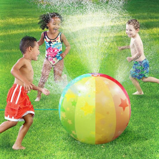 PVC Inflatable Swimming Pool Play Party Water Game Beach Ball Fun Toy for Baby