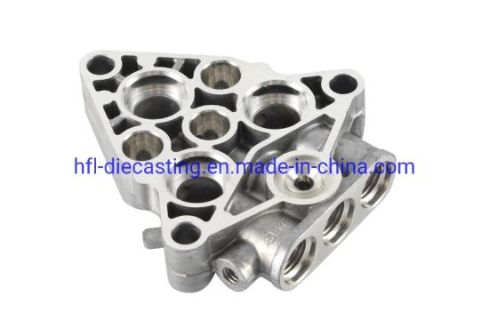 Aluminum Die Casting Mould Parts for New Engine Vehicle