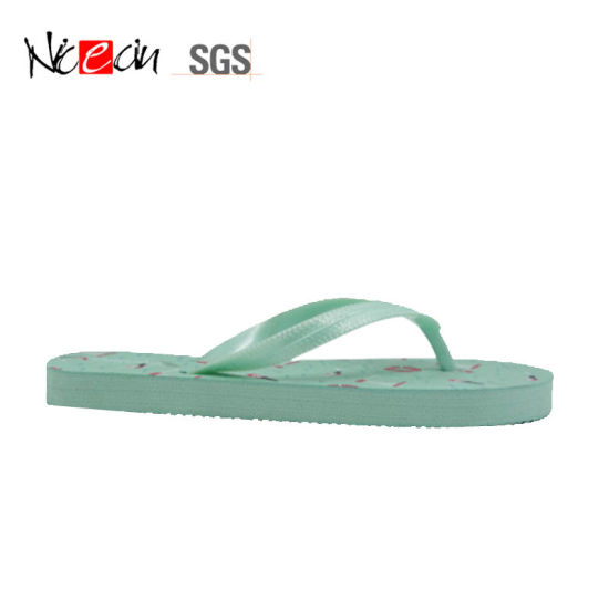 best selling pretty cool super cheap Beach Cartoon Swimming Printing Slipper Flat PE Comfortable Flip Flops for  Kids