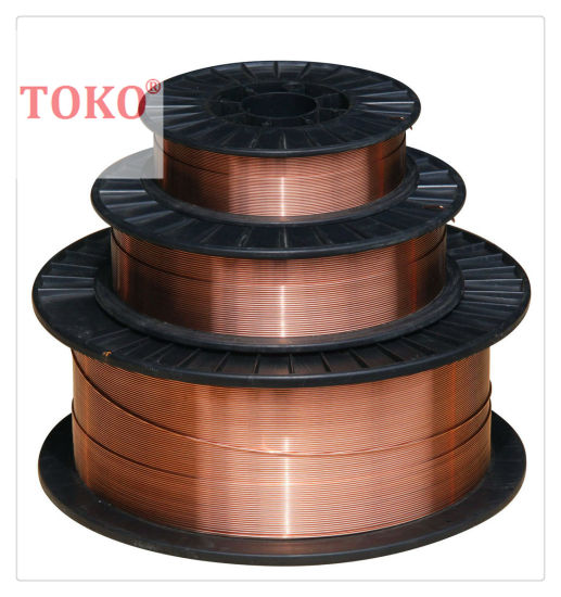 GB/T 8110 Er50-3 Copper Coating Welding Wires pictures & photos