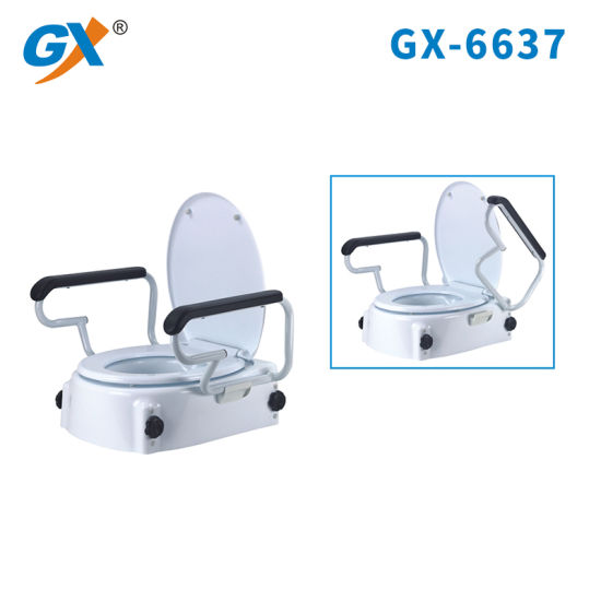 Groovy Raised Toilet Seat With Fexible Armrest For Sale Uwap Interior Chair Design Uwaporg
