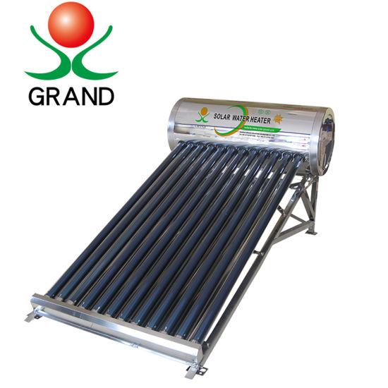 New Energy Solar Water Heater Solar Heating System Sun Energy Water Heater
