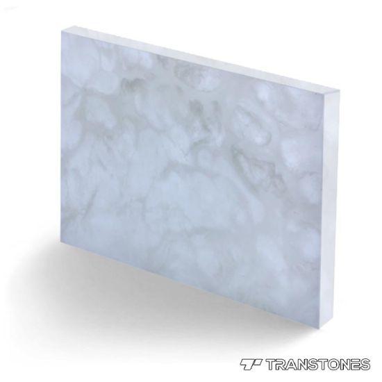 Hotel Decorative Acrylic Resin Translucent Sheet
