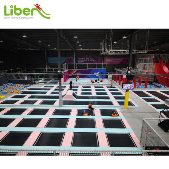 Liben Free Design Large Commercial Builder Indoor Trampoline Park