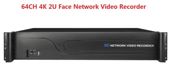 FSAN 64CH 4K 2U Full Real-Time Video Recorder NVR with Face Capture Recognition