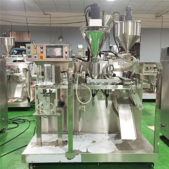 Ice Bag Pack Powder Liquid Double Filling Automatic Packing Machine Packaging Machinery