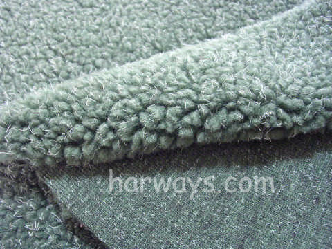 100% Polyester Sherpa Fleece Fabric Material