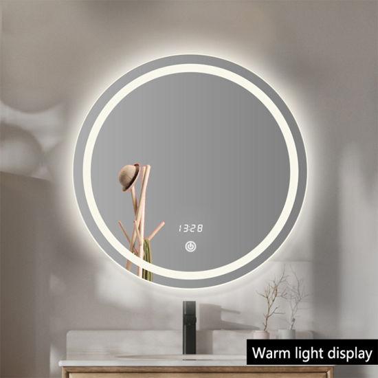 China OEM Beauty Salon Smart Illuminated LED Bathroom Washroom Furniture Mirrors Manufacturer