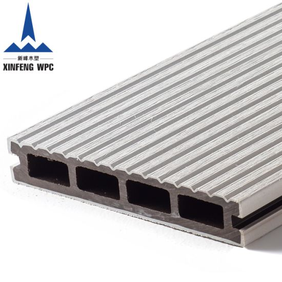 Xf-G003 High Quality Co-Extrusion Wood Plastic Composite WPC Floor Decking