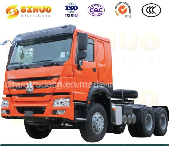 Used Sinotruk HOWO Truck Tractor Trucks 6X4 Heavy Duty Truck 336HP 340/371HP 375 10 Wheels Trailer Head China Second Hand Tractor Head Truck Excellent Condition