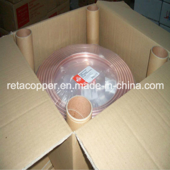 ASTM B280 ASTM B68 JISH3300 Soft Drawn Air Conditioner Copper Pipe pictures & photos