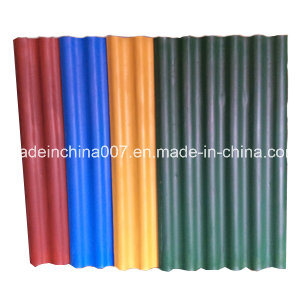Painted Color Big Six Colored Fiber Cement Roofing Tile