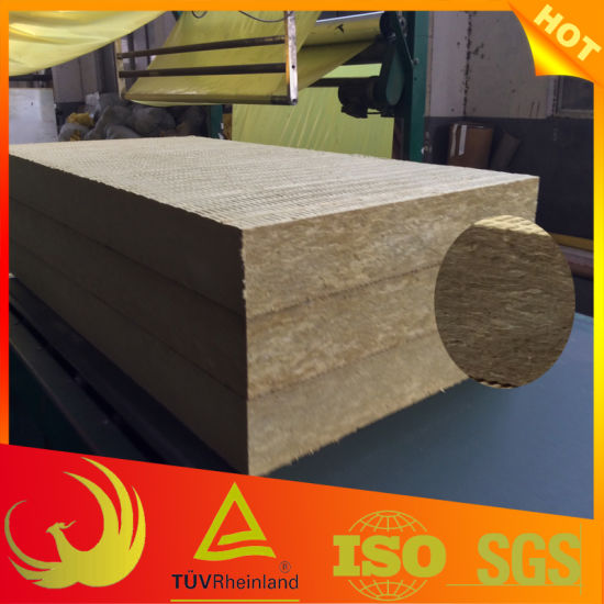 Waterproof External Wall Thermal Insulation Rock Wool Board (building) pictures & photos