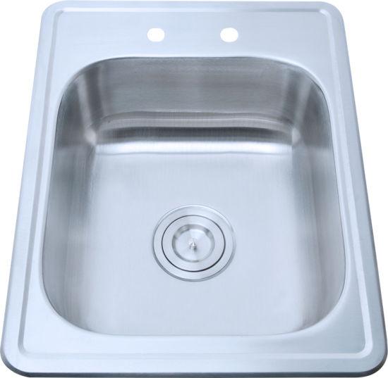 Stainless Steel Utility Sink, Kitchen Sink, Bar Sink, Hand Sink, Wash Basin  (A82)