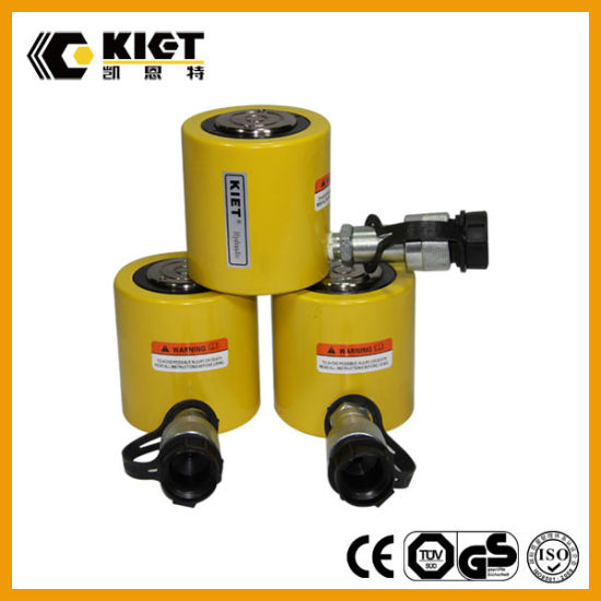 10t-100t Low Height Single Acting Hydraulic Jack pictures & photos