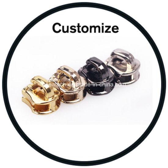 Custom Metal Leather Plastic Zipper Puller