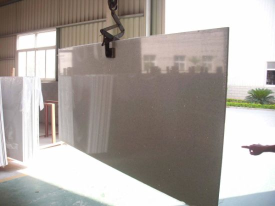 Black Flash Mirror Quartz for Tile Slab Countertop pictures & photos