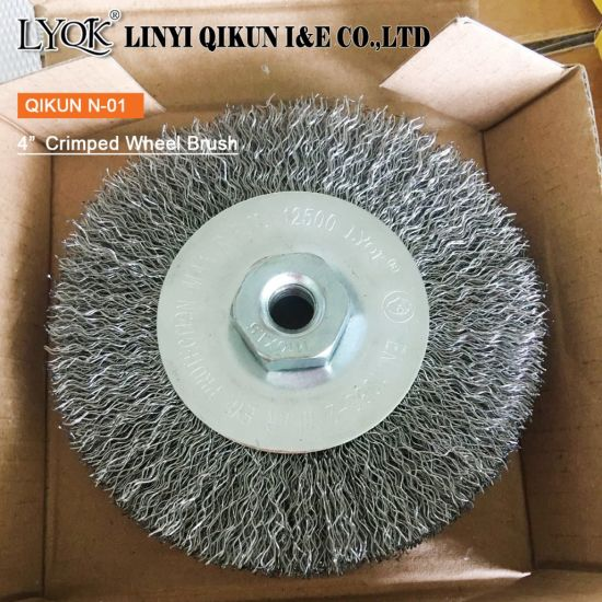 Crimped Wheel Brush for Shipbuilding Industry pictures & photos